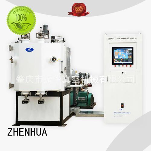 ZHENHUA durable hardness film coating machine for factory
