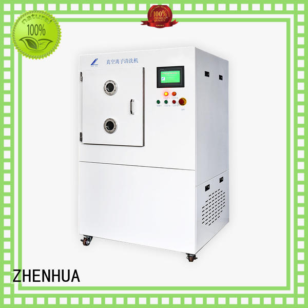 plasma surface treatment LED processing front COG precision cleaning ZHENHUA Brand vacuumion cleaning equipment