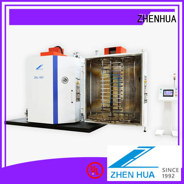 stainless steel film coating machine manufacturers supplier for glass ZHENHUA