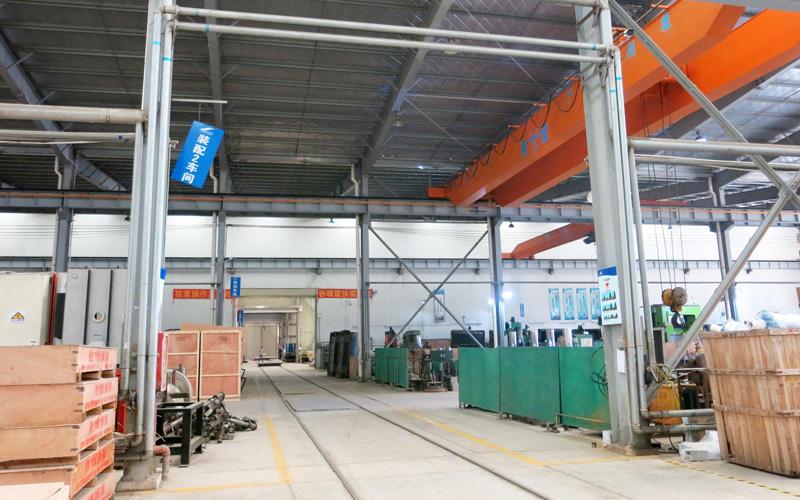 Workshop aisle