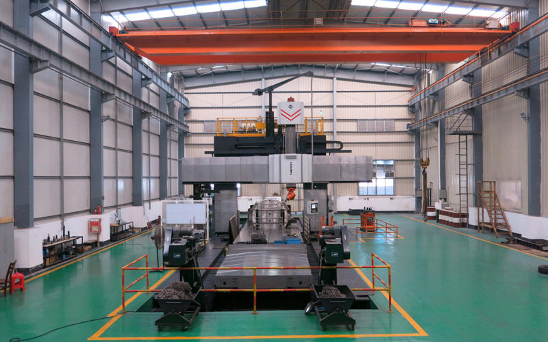 Large machining center five workshops