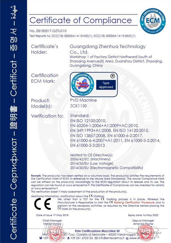 CE certificate - PDF1