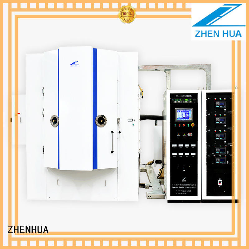 ZHENHUA Brand plating film magnetron Magnetron Sputtering Coating machine manufacture