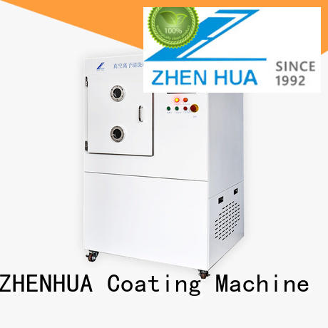 LCD processing mi-electronics ZHENHUA Brand plasma surface treatment factory