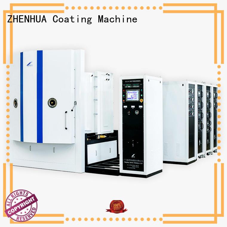 ZHENHUA durable magnetron sputtering coating machine zck1600 for ceramics
