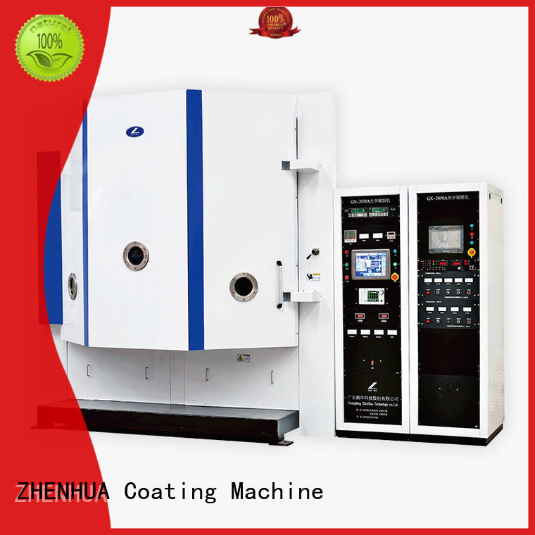 fully automatic optical mirror coating touch screen for reflection film ZHENHUA