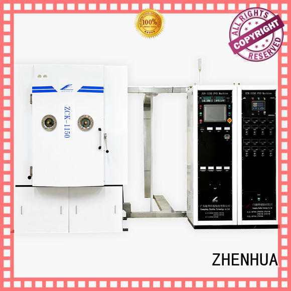 hard magnetic control optical film ZHENHUA Brand Magnetron Sputtering Coating machine supplier