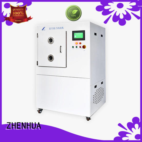 PLC vacuumion cleaning equipment supplier for ceramics ZHENHUA