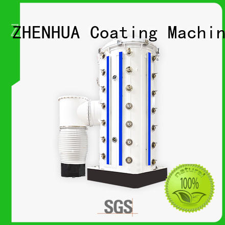 ZHENHUA semi-automatic physical vapor deposition coating machine manufacturer for factory