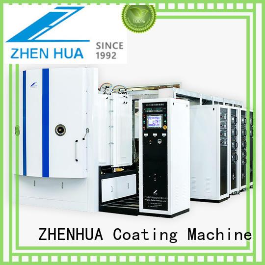 Quality ZHENHUA Brand Experimental Magnetron Copating Machine plating experimental