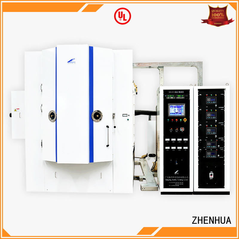 ZHENHUA plating Magnetic control optical coating system semi-automatic for ceramics