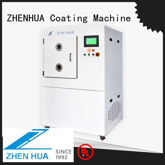 manual plasma cleaning equipment PLC for plastic ZHENHUA