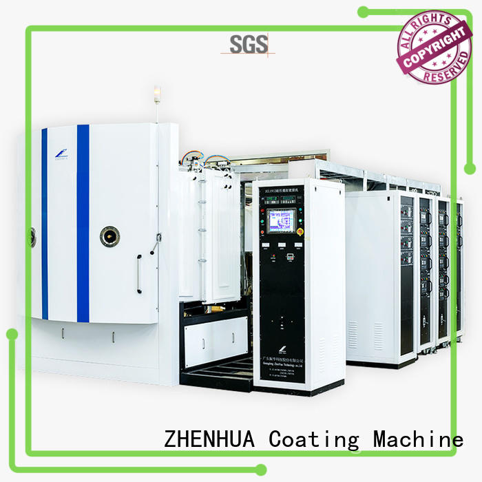 ZHENHUA durable vacuum coating equipment  touch screen for factory