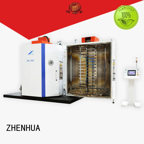 stainless steel Experimental Evaporation Coating Machine supplier for glass