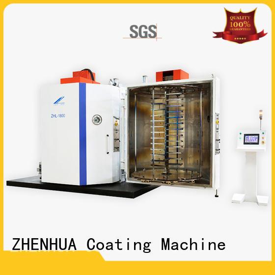 ZHENHUA protective Experimental Evaporation Coating Machine supplier for glass