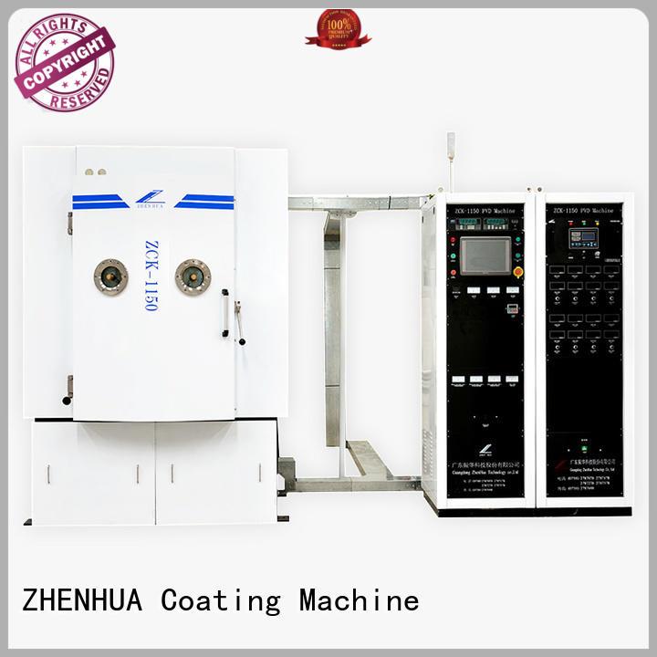 Hot Magnetron Sputtering Coating machine hard ZHENHUA Brand