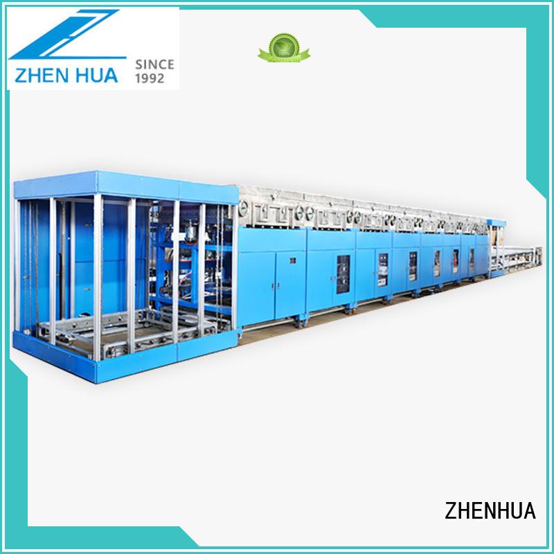 continuous oxidized film fast speed nitride film ZHENHUA Brand Inline Sputtering System supplier