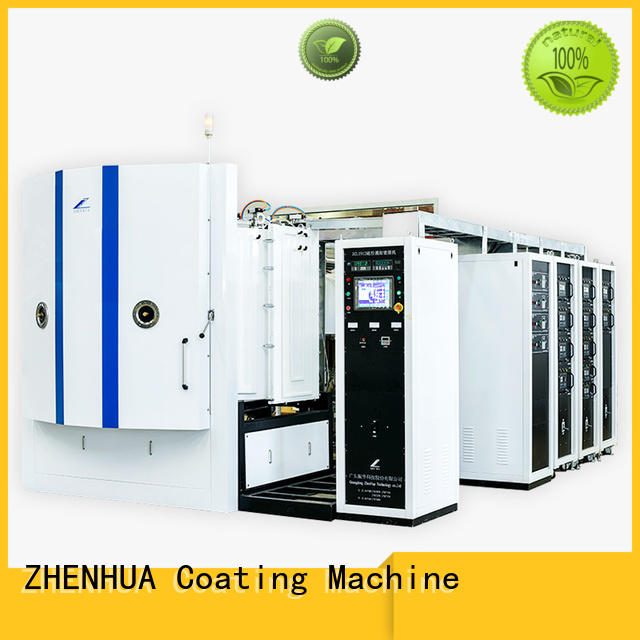 semi-automatic magnetron sputtering coating system manufacturer for industry ZHENHUA