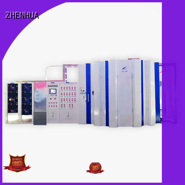 ZHENHUA Multiple arc Anti-Fingerprints coating equipment machine for stainless steel sheet