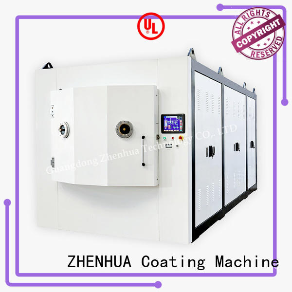 ZHENHUA plating Magnetic control optical film plating machine from China for factory