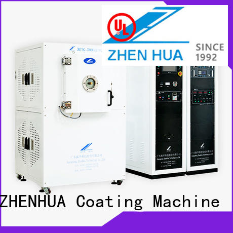 ZHENHUA stainless steel electrode coating machine for factory
