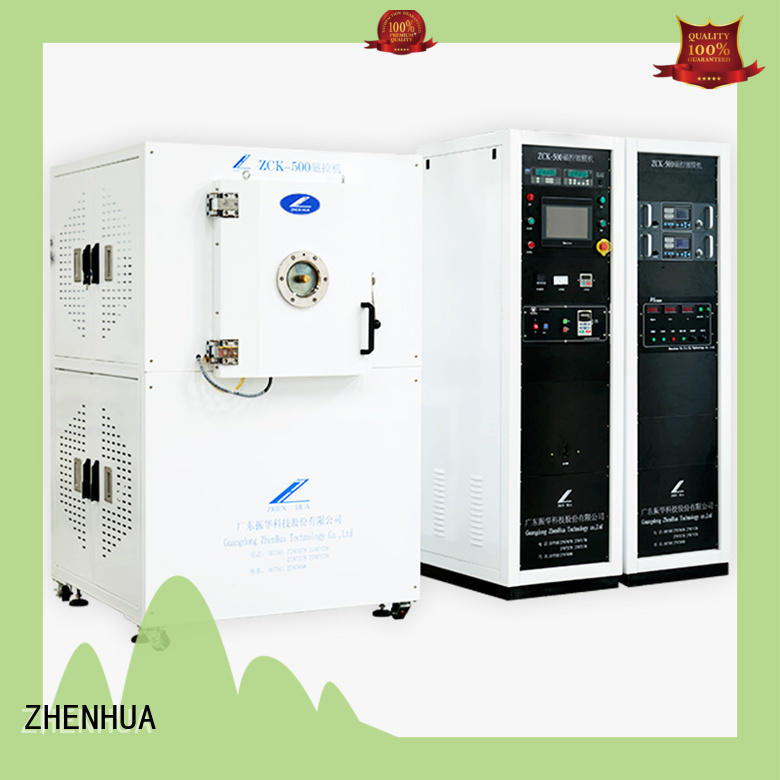 ZHENHUA optical magnetron sputtering system touch screen for ceramics