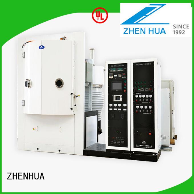 ZHENHUA protective magnetron optical coating machine customized for spectroscopic film