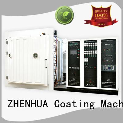 Wholesale magnetron magnetic control Magnetron Sputtering Coating machine ZHENHUA Brand