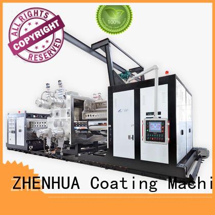 ships roll to roll vacuum coating building doors conducting film ZHENHUA Brand