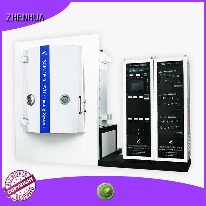 optical plating Magnetron Sputtering Coating machine ZHENHUA Brand