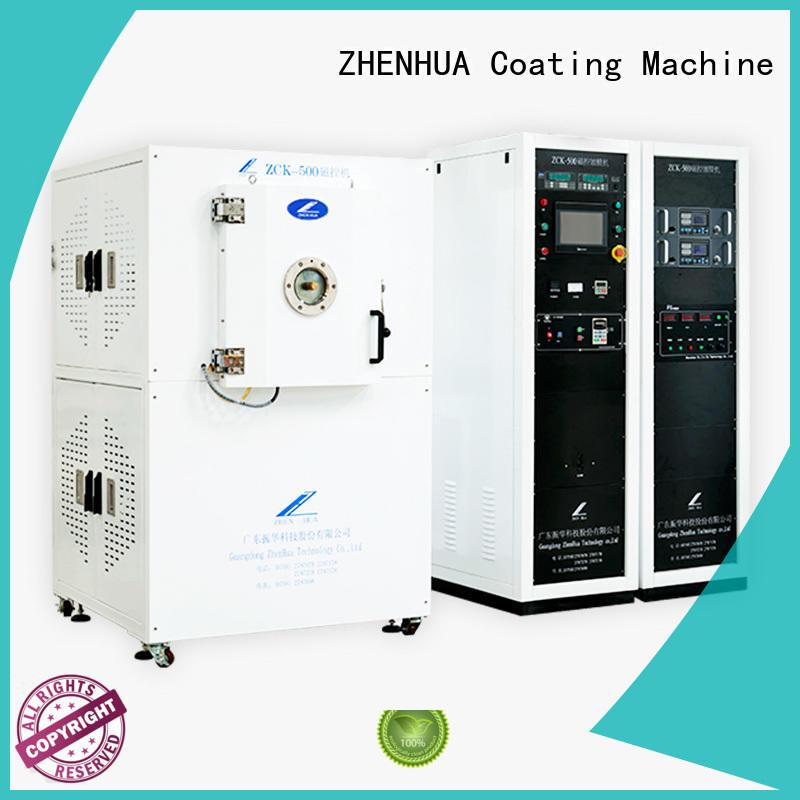 film experimental super ZHENHUA Brand Magnetron Sputtering Coating machine supplier