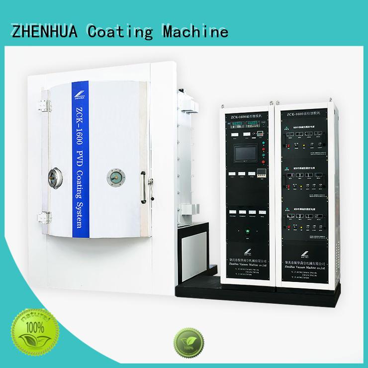 ZHENHUA Brand experimental magnetic control custom Experimental Magnetron Copating Machine