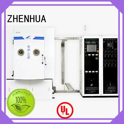 ZHENHUA plating Multiple arc sputtering coating system manufacturer for ceramics