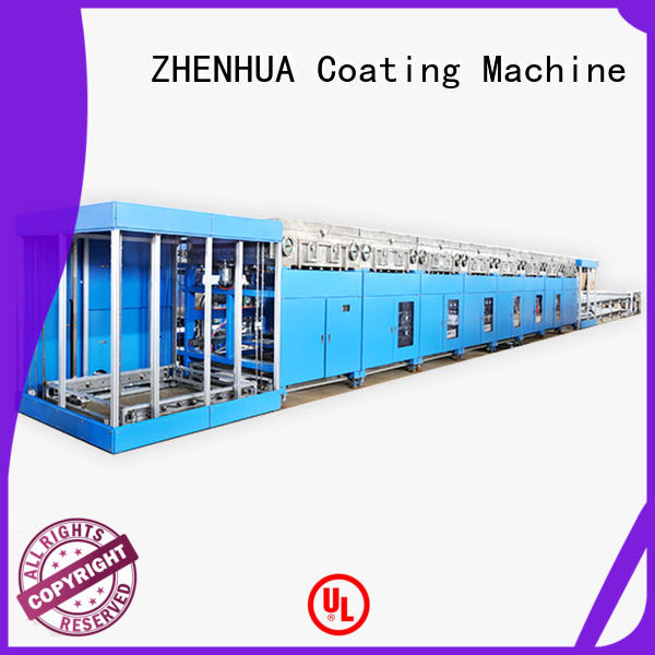 line magnetic sputtering coating line customized for metal ZHENHUA