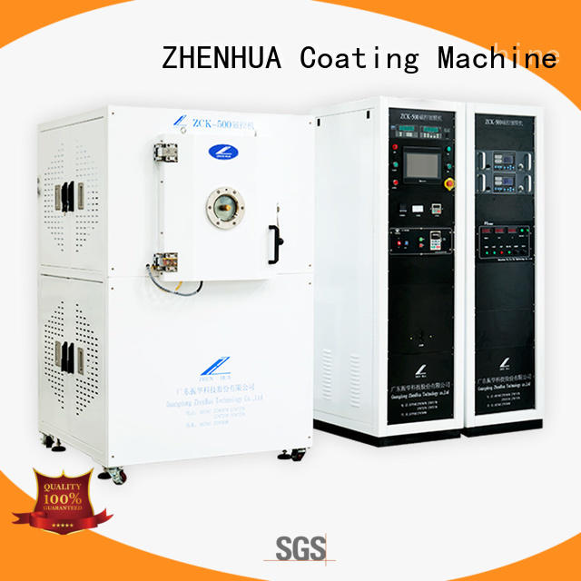 ZHENHUA plating paint coating machine semi-automatic for ceramics