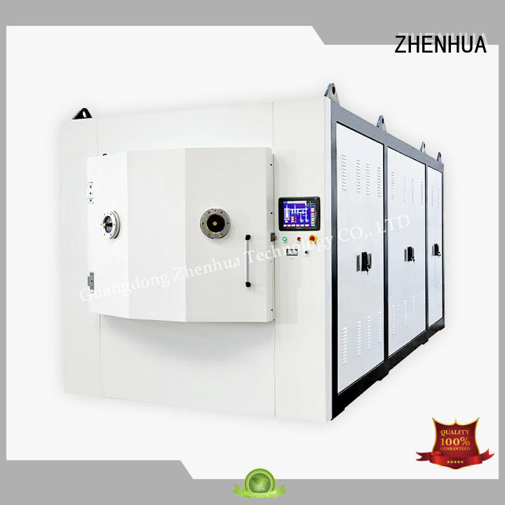 Custom experimental hard Magnetron Sputtering Coating machine ZHENHUA super