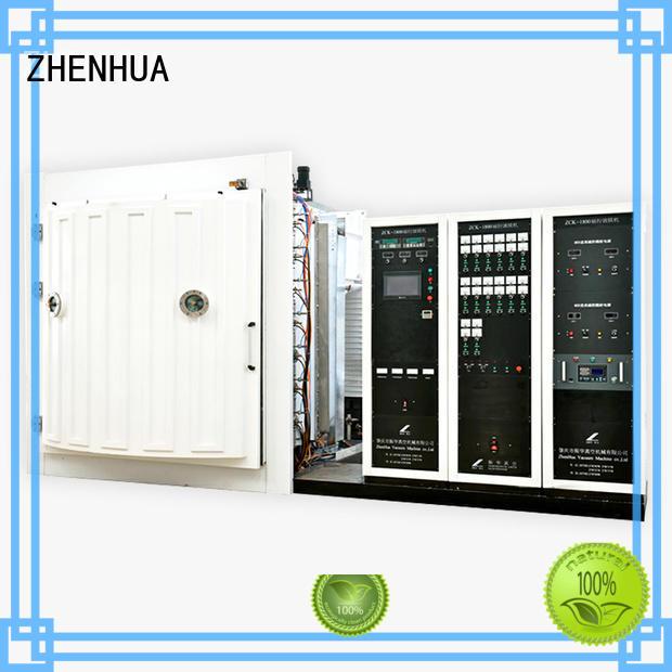 Custom hard Magnetron Sputtering Coating machine plating ZHENHUA