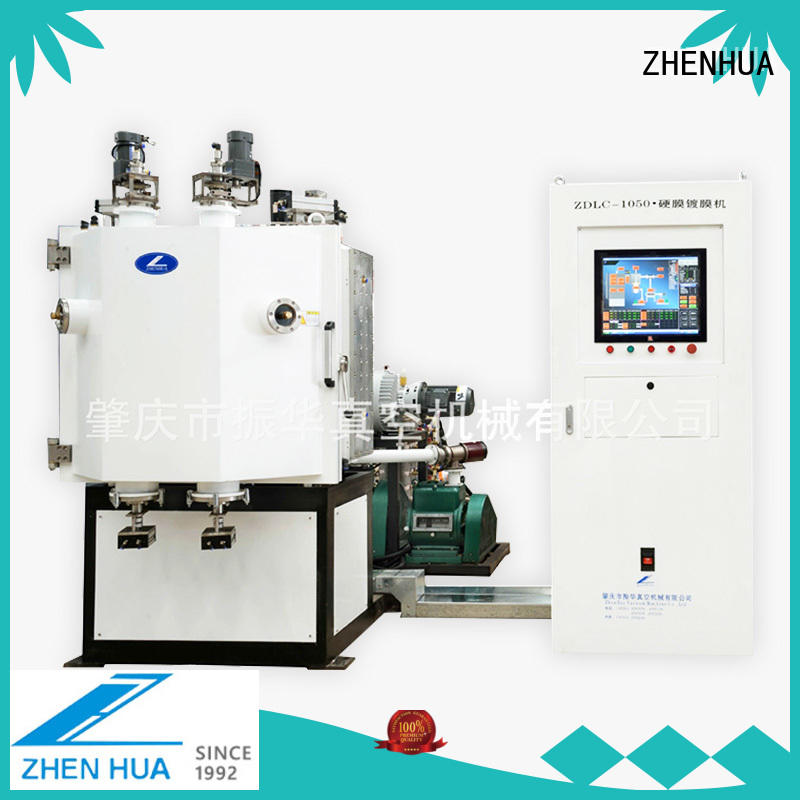 ZHENHUA cemented carbide hard film coating system supplier for titanium