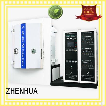 magnetic control optical Magnetron Sputtering Coating machine ZHENHUA Brand