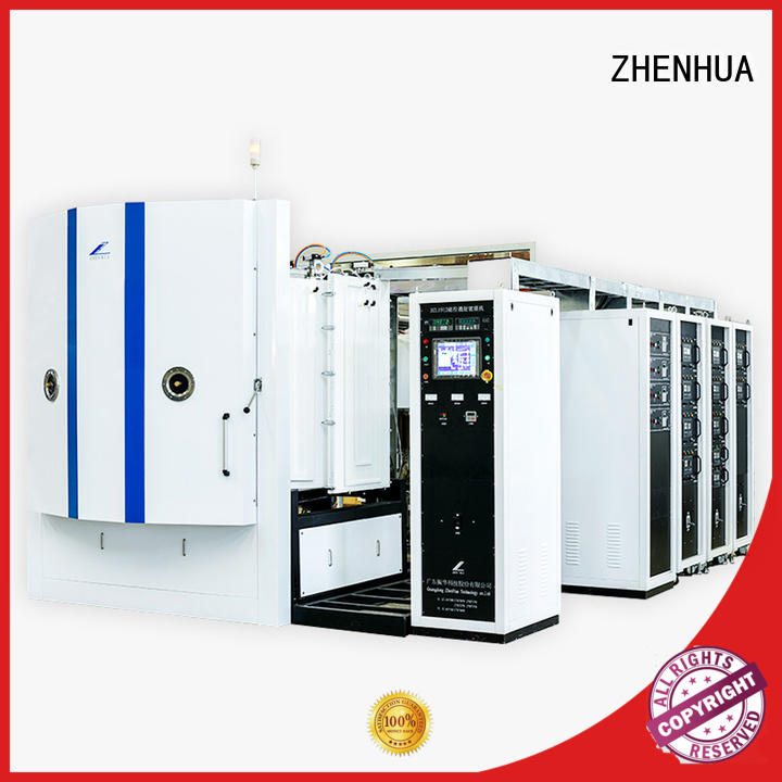 fully automatic magnetron sputtering coating system semi-automatic for ceramics ZHENHUA
