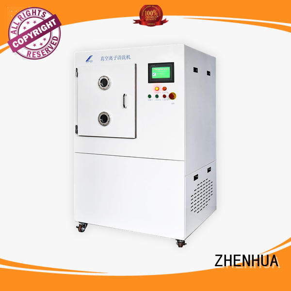ZHENHUA PLC vacuumion cleaning equipment customized for metal