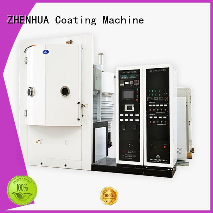 ZHENHUA Brand high reflective film anti reflection film band pass film Optical Coating Machine