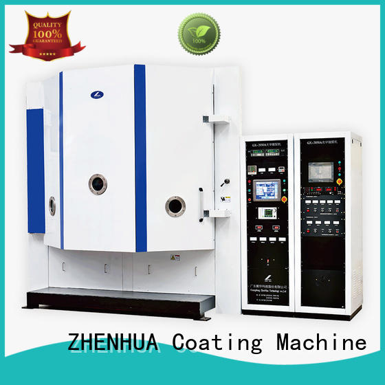 touch screen magnetron optical coating machine customized for spectroscopic film ZHENHUA