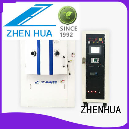 semi-automatic optical mirror coating supplier for spectroscopic film ZHENHUA
