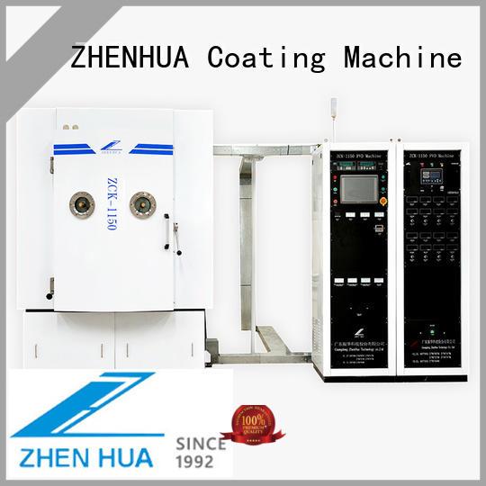 fully automatic physical vapor deposition coating system PLC for plastic ZHENHUA