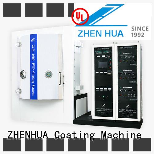 ZHENHUA optical hard coating machine personalized for factory