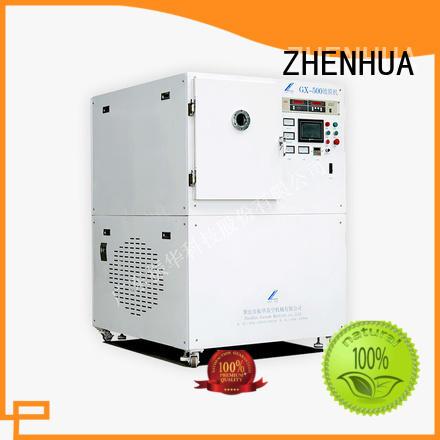 stainless steel Experimental vacuum coating equipment supplier for nylon ZHENHUA