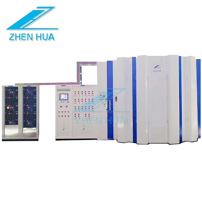 ZCT3120 Large PVD AF Anti fingerprint Coating Machine Large PVD Vacuum Coating for Stainless Steel Sheet