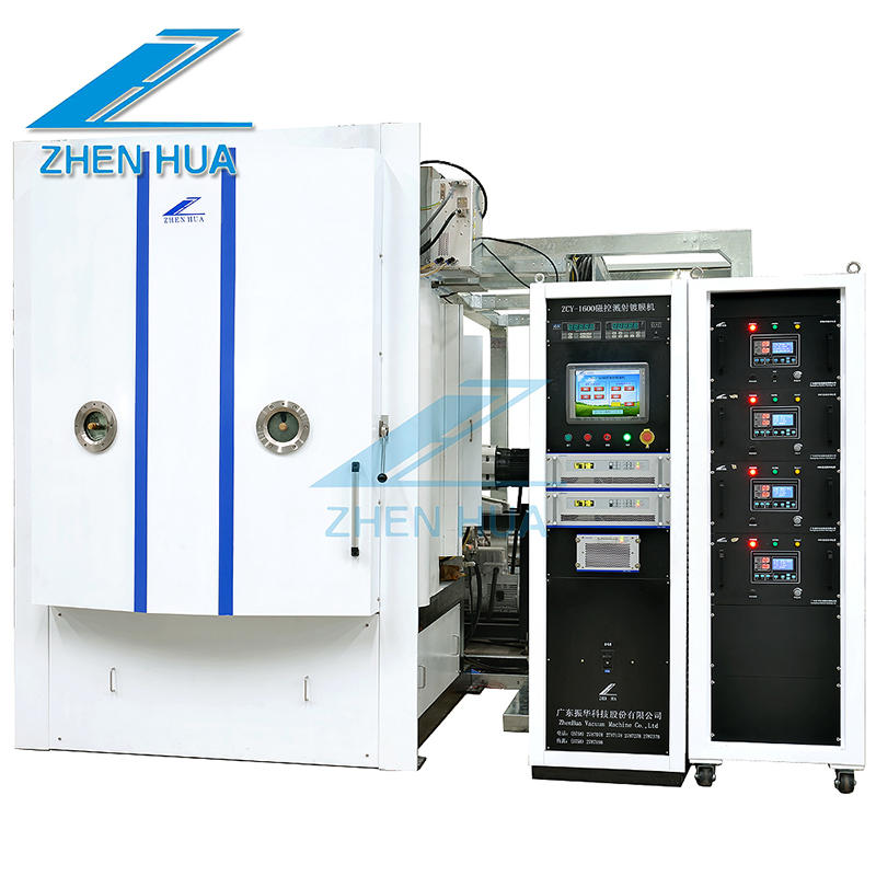 pvd coating machine/magnetron sputtering coating machine/Jewelry PVD Coating Machine ZCL1616