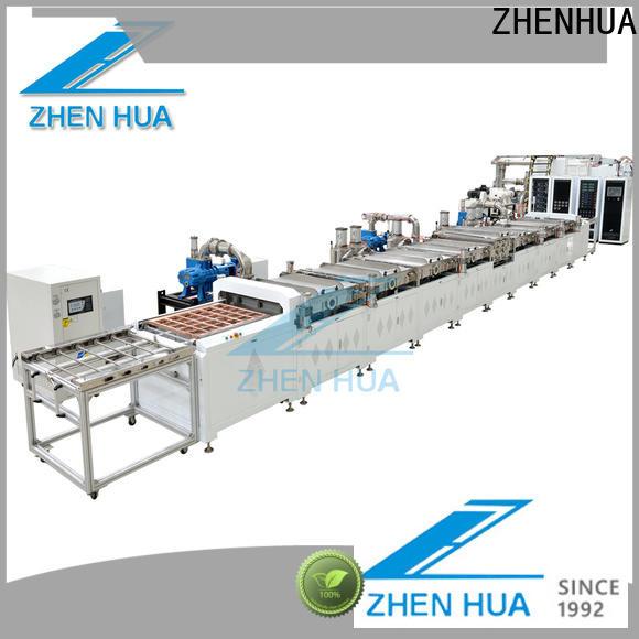 ZHENHUA durable in line sputter design for plastic